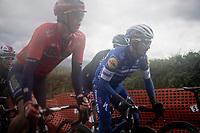 Julian ALAPHILIPPE (FRA/Deceuninck-Quick Step) up the Côte de La Redoute<br /> <br /> 105th Liège-Bastogne-Liège 2019 (1.UWT)<br /> One day race from Liège to Liège (256km)<br /> <br /> ©kramon