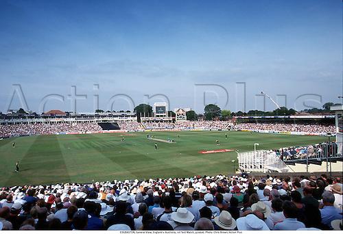 EDGBASTON, General View, England v Australia, 1st Test Match, 970606. Photo: Chris Brown/Action Plus...1997.cricket.venue.ground.grounds.venues