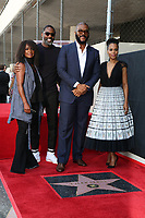 LOS ANGELES - OCT 1:  Crystal Fox, Idris Elba, Tyler Perry, Kerry Washington at the Tyler Perry Star Ceremony on the Hollywood Walk of Fame on October 1, 2019 in Los Angeles, CA