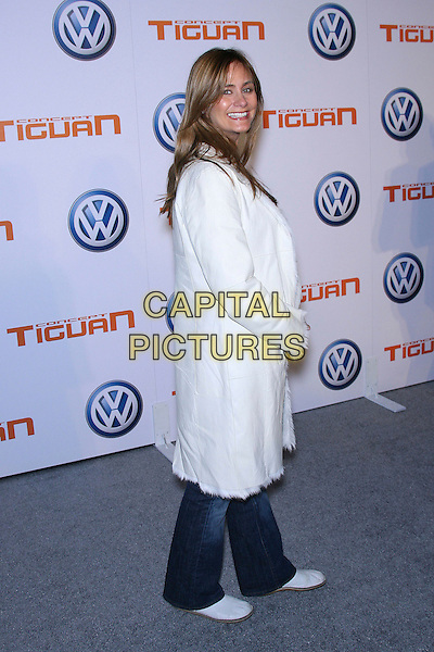 DIANNE FARR.US Premiere of Concept Tiguan - Arrivals held at Raleigh Studios Stage 5, Hollywood, California, USA, .28 November 2006..full length white coat jeans.CAP/ADM/ZL.©Zach Lipp/AdMedia/Capital Pictures.