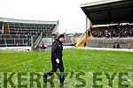 Kerry Manager Peter Keane  before the Allianz Football League Division 1 Round 5 match between Kerry and Monaghan at Fitzgerald Stadium in Killarney, on Sunday.