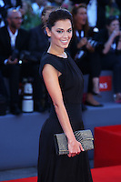Giorgia Surina attends the red carpet for the Kineo Award, during the 72nd Venice Film Festival at the Palazzo Del Cinema in Venice, Italy, September 6, 2015.<br /> UPDATE IMAGES PRESS/Stephen Richie