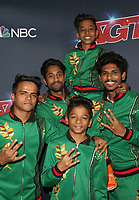 """HOLLYWOOD, CA - SEPTEMBER 10: V. Unbeatable Dance Group, at """"America's Got Talent"""" Season 14 Live Show Red Carpet at The Dolby Theatre  in Hollywood, California on September 10, 2019. Credit: Faye Sadou/MediaPunch"""