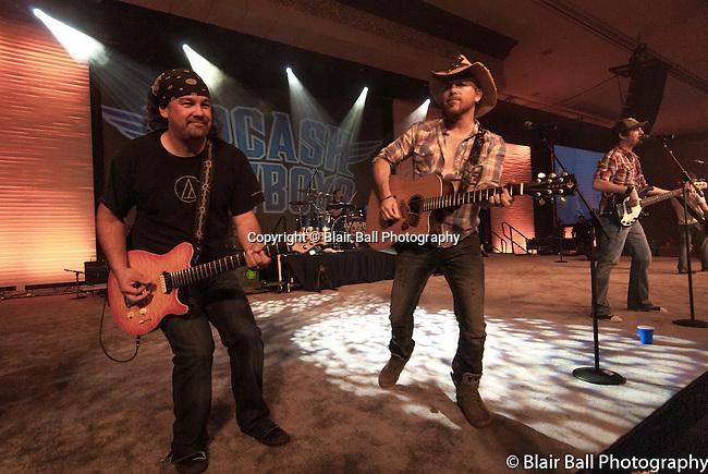 LoCash Cowboys band performs at the Gaylord Texan.