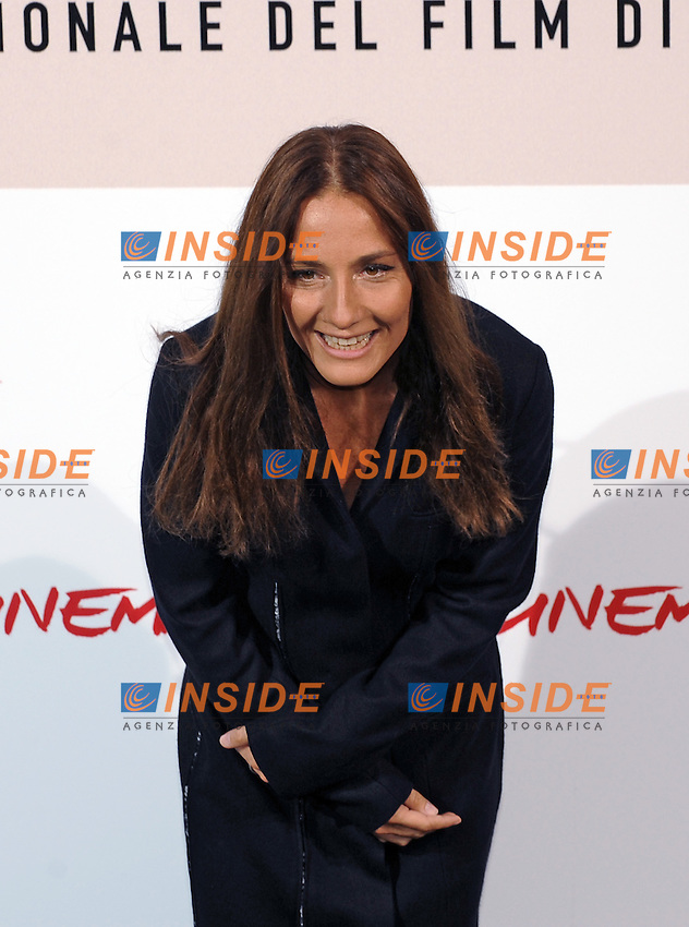 Maria Sole Tognazzi poses for photographers during the photocall for the film &quot;L'uomo che ama&quot; at the third edition of Festa Internazionale del Cinema di Roma, Auditorium Parco della Musica, October 23, 2008. <br /> Photo Andrea Staccioli Insidefoto