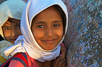 Muslim School Children in Aurangabad Town, India
