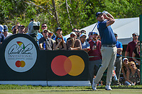 Marc Leishman (AUS) watches his tee shot on 7 during round 1 of the Arnold Palmer Invitational at Bay Hill Golf Club, Bay Hill, Florida. 3/7/2019.<br /> Picture: Golffile | Ken Murray<br /> <br /> <br /> All photo usage must carry mandatory copyright credit (&copy; Golffile | Ken Murray)