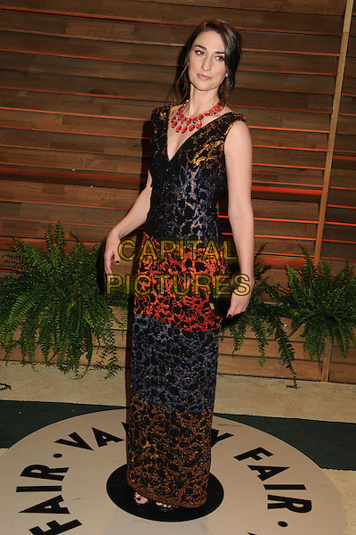 02 March 2014 - West Hollywood, California - Sara Bareilles. 2014 Vanity Fair Oscar Party following the 86th Academy Awards held at Sunset Plaza.  <br /> CAP/ADM/BP<br /> &copy;Byron Purvis/AdMedia/Capital Pictures