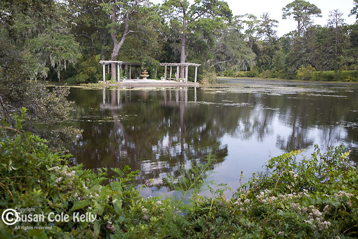 The Pergola garden at Airlie Gardens, Wilmington, NC