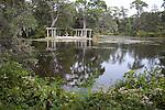The Pergola garden at Airlie Gardens, Wilmington, NC
