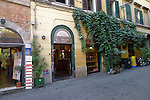 Traditional bakers in the Trastevere district of Rome.