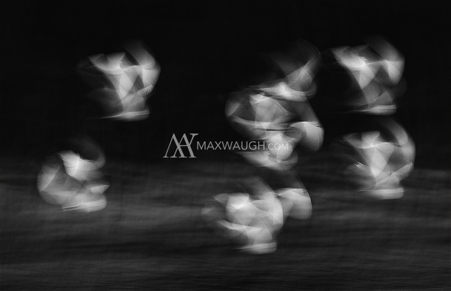 As we were traveling down river at high speeds at the end of the day, a flock of Snowy egrets flew at our pace.  I slowed the shutter speed down and tried to capture various motion blurs.  As a result of the motion of the boat, the birds and hand-holding, some interesting patterns emerged.