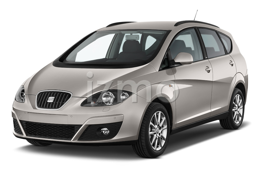 2014 Seat ALTEA XL I-TECH Special 5 Door Mini MPV 2WD Angular Front stock photos of front three quarter view