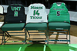 DENTON, TX - FEBRUARY 1: North Texas Mean Green Women's Basketball v Rice Owls at Super Pit - North Texas Coliseum on February 1, 2020 in Denton, Texas.