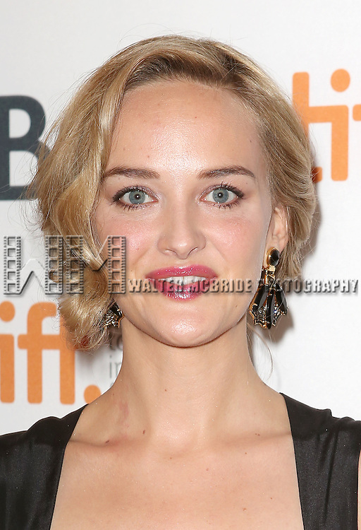 """Jess Weixler during the 2013 Tiff Film Festival Gala Red Carpet Premiere for """"The Disappearance of Eleanor Rigby""""  at the Elgin Theatre  on September 9, 2013 in Toronto, Canada."""