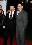 """HOLLYWOOD, CA. - December 03: Actors Freddy Rodríguez and John Leguizamo arrive at the Los Angeles premiere of """"Nothing Like The Holidays"""" at Grauman's Chinese Theater on December 3, 2008 in Hollywood, California."""