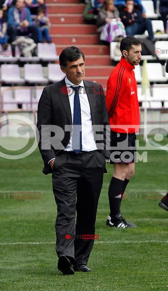 Osasuna´s coach Mendilibar in La Liga 2012/13. 31/03/2013. Victor Blanco/Alterphotos /NortePhoto
