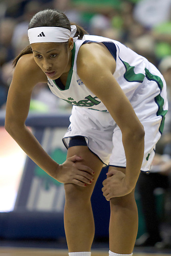 Notre Dame guard Skylar Diggins (#4) in first half action during NCAA Women's basketball game between Kentucky and Notre Dame.  The Notre Dame Fighting Irish defeated the Kentucky Wildcats 92-83 in game at Purcell Pavilion at the Joyce Center in South Bend, Indiana.
