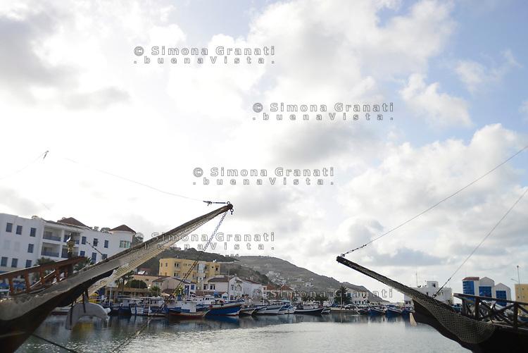 Tabarka, Tunisia, 18 Settembre 2018<br /> Il porto di Tabarka