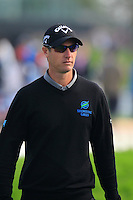 Nicolas Colsaerts (BEL) walks to the 1st tee to start his match during Sunday's Final Round of the 2014 BMW Masters held at Lake Malaren, Shanghai, China. 2nd November 2014.<br /> Picture: Eoin Clarke www.golffile.ie