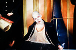 Graeae Theatre Company;<br /> UBU by Jarry;<br /> Adaptation by Trevor Lloyd;<br /> Jamie Bedard (as Ubu);<br /> Premiere;<br /> at Oval House, London, UK;<br /> 8 December 1994;<br /> Credit: Patrick Baldwin