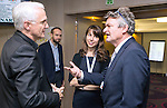"BRUSSELS - BELGIUM - 23 November 2016 -- European Training Foundation (ETF) Conference on ""GETTING ORGANISED FOR BETTER QUALIFICATIONS"". -- Volker Rein, Federal Institute for vocational education and training (BIBB) - Bundesinstitut Senior Research associate; Professor Lori Foster, North Carolina State University and Reinhard Nöbauer, Vocational Education and Training - Federal Ministry of Education and Women's Affairs - Senior Expert. . -- PHOTO: Juha ROININEN / EUP-IMAGES"