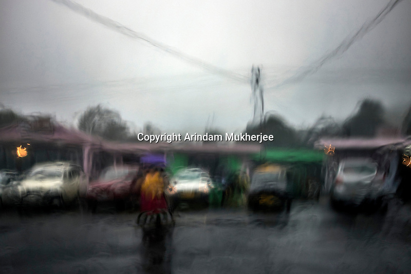 Torrential rain in Cherrapunji nestled in East Khasi Hills - the wettest place on Earth. Arindam Mukherjee.