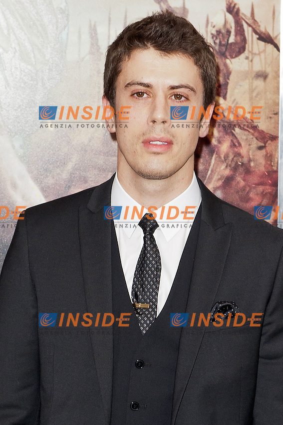 "Toby Kebbell.Anteprima di ""La Furia dei Titani"". ""Wrath of the Titans"".AMC Lincoln Square Theater.26/03/2012, New York.Foto Insidefoto / Marco Sagliocco..Only Italy"