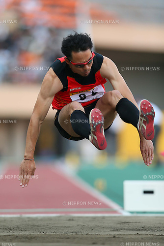 Daisuke Arakawaw (JPN), MAY 5, 2013 - Athletics : SEIKO Golden Grand Prix in Tokyo, Men's Long Jump at National Stadium, Tokyo, Japan. (Photo by AFLO SPORT)