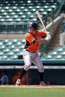 Baltimore Orioles Seamus Curran (96) during an instructional league game against the Minnesota Twins on September 22, 2015 at Ed Smith Stadium in Sarasota, Florida.  (Mike Janes/Four Seam Images)
