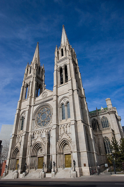 Church of the Immaculate Conception; Colfax Avenue; Catholic Church, Denver; Colorado. .  John offers private photo tours in Denver, Boulder and throughout Colorado. Year-round Colorado photo tours.