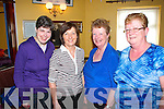 Enjoying the Tea Dance in aid of Millford Hospice which was held in Fr. Casey's GAA Clubhouse on Sunday were L-R :  Catherine and Breda O'Callaghan, Rockchapel, Eileen Scanlon and Mary Stanley, Ballyhahill.