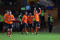 8th November 2019; Dens Park, Dundee, Scotland; Scottish Championship Football, Dundee Football Club versus Dundee United; Lawrence Shankland of Dundee United celebrates after scoring for 2-0 in the 64th minute - Editorial Use - Editorial Use