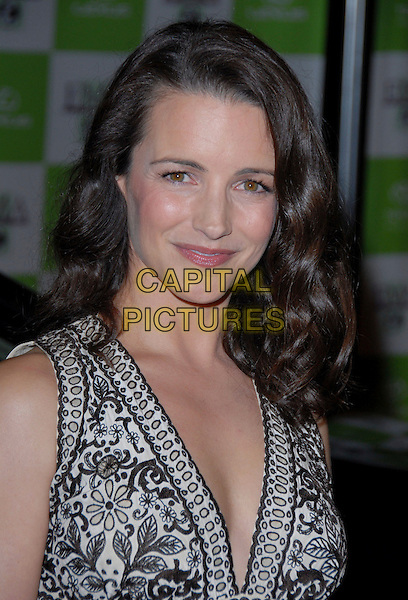 KRISTIN DAVIS.16th Annual Environmental Media Association Awards Gala held at the Wilshire Ebell Theatre,Los Angeles, California, USA..November 8th, 2006.Ref: ADM/CH.headshot portrait.www.capitalpictures.com.sales@capitalpictures.com.©AdMedia/Capital Pictures. *** Local Caption *** ..