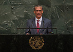 72 General Debate &ndash; 23rd of September  2017<br /> <br /> H.E. Dennis MOSES<br /> Minister for Foreign and CARICOM<br /> Affairs of<br /> TRINIDAD AND TOBAGO