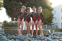 STANFORD, CA-OCTOBER 22, 2012- Stanford Women's Gymnastics Team