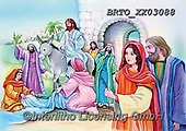 Alfredo, EASTER RELIGIOUS, OSTERN RELIGIÖS, PASCUA RELIGIOSA, paintings+++++,BRTOXX03088,#er#, EVERYDAY