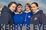 THINK SAFETY: Students from St. Brigid's Secondary School, Killarney found the Kerry COunty Council Roadsafety roadshow very informative. From l-r were: Noeleen O'Mahony, Brenda Carroll, Niamh Hartnett and Karen O'Connor.   Copyright Kerry's Eye 2008