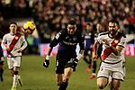 Rayo Vallecano's Gorka Elustondo and CD Leganes's Gerard Gumbau during La Liga match between Rayo Vallecano and CD Leganes at Vallecas Stadium in Madrid, Spain. February 04, 2019. (ALTERPHOTOS/A. Perez Meca)