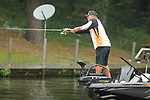 August 10, 2019: J Todd Tucker on day two of the Forrest Wood Cup on Lake Hamilton in Hot Springs, Arkansas. ©Justin Manning/Eclipse Sportswire/CSM