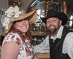 Sabrina and Tom Gray during the Kentucky Derby Party at The Depot on Saturday, May 6, 2017 in Reno, Nevada.