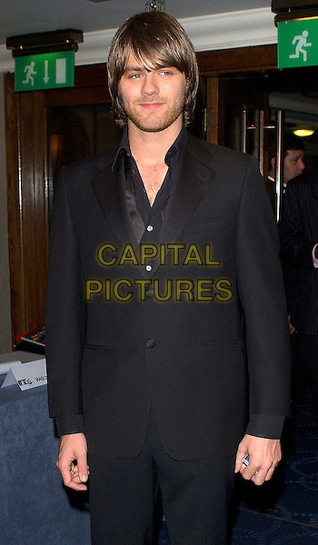BRIAN McFADDEN<br /> HMV Football Extravaganza 2005, Grosvenor House, Park Lane, London, March 30th 2005.<br /> half length Bryan<br /> Ref: BEL<br /> www.capitalpictures.com<br /> sales@capitalpictures.com<br /> &copy;Tom Belcher/Capital Pictures