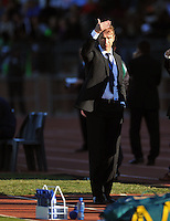 Pim Verbeek coach of Australia....Football - International Friendly - USA v Australia - Ruimsig Stadium