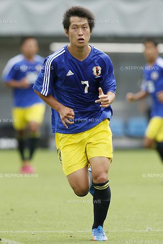 Shuto Kitagawa,<br /> JULY 1, 2014 - Football / Soccer : <br /> Training match between U-19 Japan 1-2 Omiya Ardija<br /> at NACK5 Stadium Omiya, Saitama, Japan. <br /> (Photo by SHINGO ITO/AFLO SPORT)