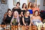 Anna Griffin, Ballinorig, Tralee celebrating her 30th birthday with friends at Bella Bia on Saturday  Pictured Front l-r Rebecca Nardone, Anna Griffin, Caitriona O Brien, Ciara McCarthy, Back l-r, Tara O'Connor, Michelle Nelan, Emma O'Brien and Michelle Galvin