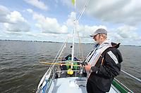 ZEILEN: TERHERNE: 15-07-2017, Snitser Mar, SKS Foarwedstriid, Gerlof van Wieren, ©Martin de Jong