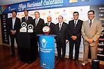Presentacion XXXIII-Lliga Nacional Catalana ACB 2012.