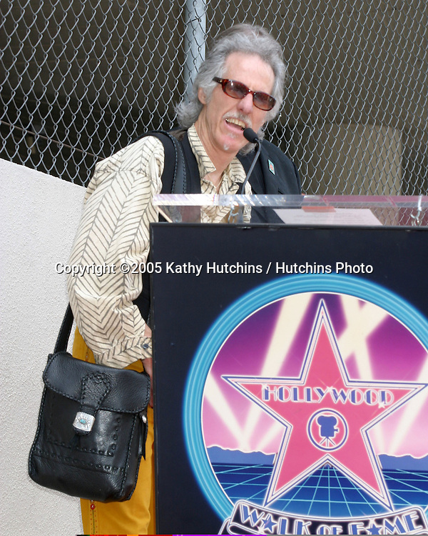 John Densmore.Jim Ladd receives Star on the .Hollywood Walk of Fame.Hollywood  CA.May 6, 2005.©2005 Kathy Hutchins / Hutchins Photo