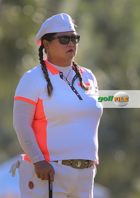 151119 Christina Kim during Thursday's First Round of The CME LPGA Tour Championship at The Tiburon Golf Club, in Naples, Fl.(photo credit : kenneth e. dennis/kendennisphoto.com)