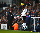 17th March 2018, Craven Cottage, London, England; EFL Championship football, Fulham versus Queens Park Rangers; Ryan Sessegnon of Fulham chests the ball